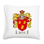 Parrish Family Crest Square Canvas Pillow