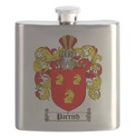 Parrish Family Crest Flask