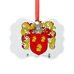 Parrish Family Crest Picture Ornament