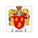 Parrish Family Crest Square Sticker 3