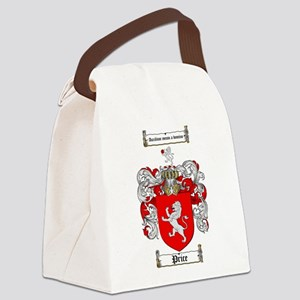 Price Coat of Arms Canvas Lunch Bag