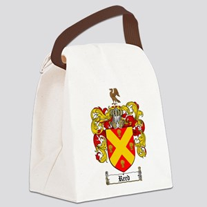 Reed Family Crest Canvas Lunch Bag