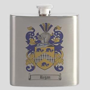 Regan Family Crest Flask