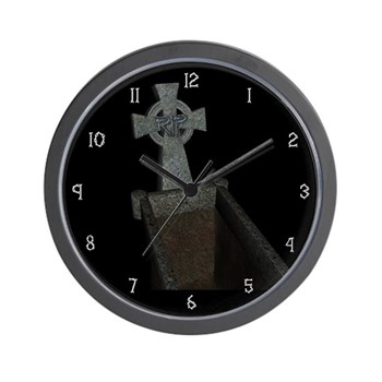 Grave Wall Clock