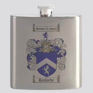 Richards Coat of Arms Flask