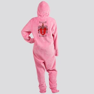 Roach Coat of Arms Footed Pajamas
