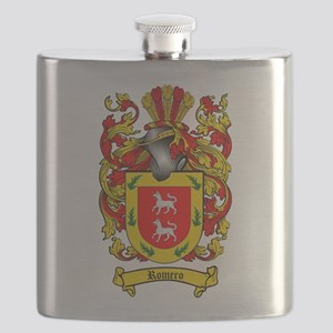 Romero Coat of Arms Flask