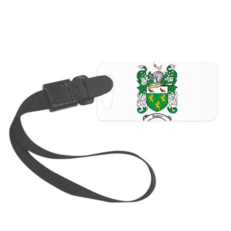 Rooney Coat of Arms Small Luggage Tag