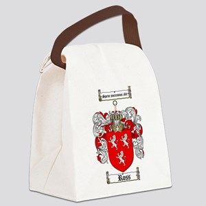 Ross Coat of Arms Canvas Lunch Bag