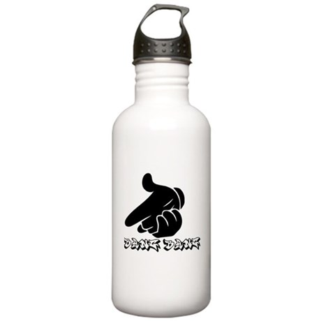 gun hands Water Bottle