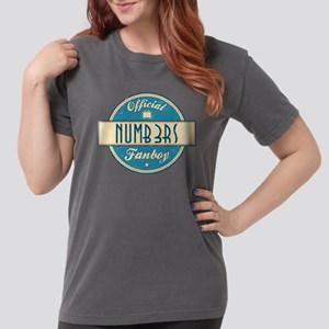 Official Numb3rs Fanboy Womens Comfort Colors Shir
