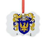 Sanchez Coat of Arms Picture Ornament