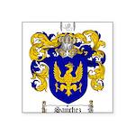 Sanchez Coat of Arms Square Sticker 3