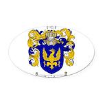 Sanchez Coat of Arms Oval Car Magnet