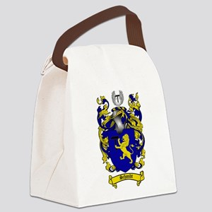 Schmidt Coat of Arms Canvas Lunch Bag