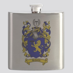 Schmidt Coat of Arms Flask