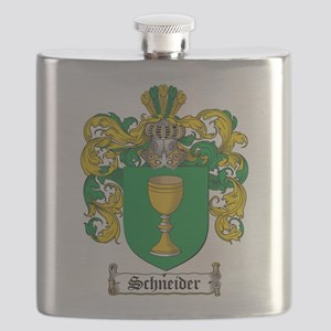 Schneider Coat of Arms Flask