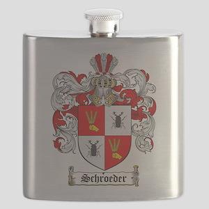 Schroeder Coat of Arms Flask