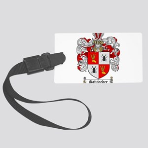 Schroeder Coat of Arms Large Luggage Tag