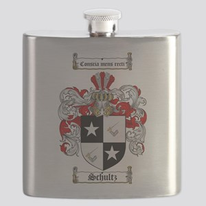 Schultz Coat of Arms Flask