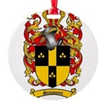 Simmons Coat of Arms Round Ornament