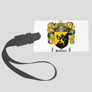 Simpson Coat of Arms Large Luggage Tag