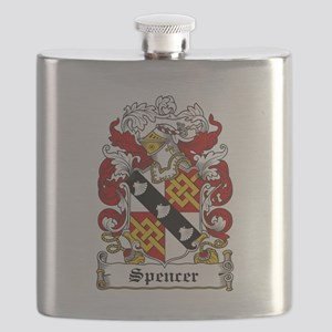 Spencer Coat of Arms Flask