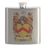 Stafford Coat of Arms Flask