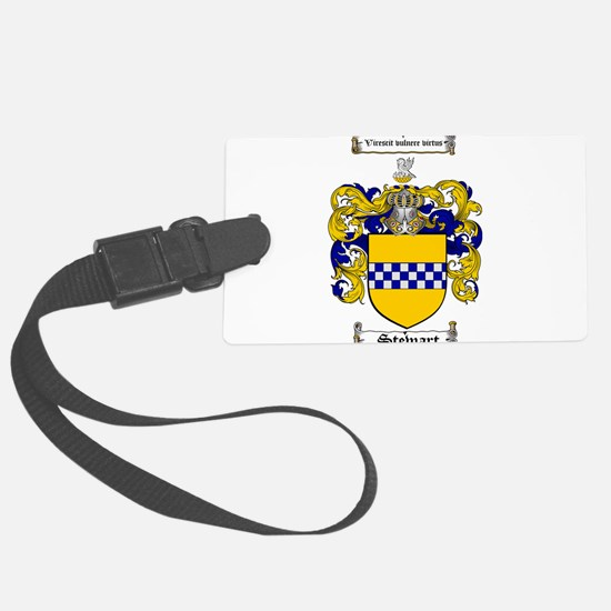Stewart Coat of Arms Luggage Tag