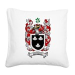 Strickland Coat of Arms Square Canvas Pillow
