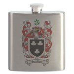 Strickland Coat of Arms Flask
