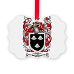 Strickland Coat of Arms Picture Ornament
