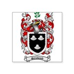 Strickland Coat of Arms Square Sticker 3