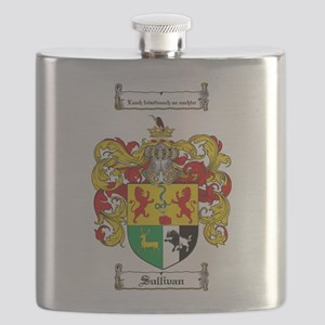 Sullivan Coat of Arms Flask