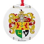 Sullivan Coat of Arms Round Ornament