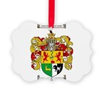 Sullivan Coat of Arms Picture Ornament