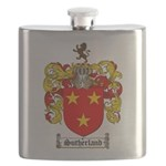 Sutherland Coat of Arms Flask