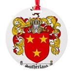 Sutherland Coat of Arms Round Ornament