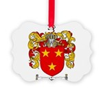 Sutherland Coat of Arms Picture Ornament