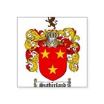 Sutherland Coat of Arms Square Sticker 3
