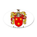 Sutherland Coat of Arms Oval Car Magnet