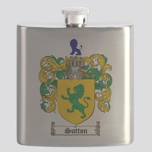 Sutton Coat of Arms Flask