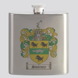 Sweeney Coat of Arms Flask
