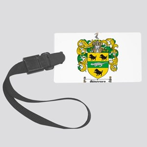 Sweeney Coat of Arms Large Luggage Tag