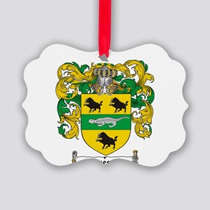 Sweeney Coat of Arms Picture Ornament