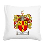 Tate Coat of Arms Square Canvas Pillow