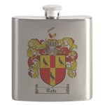 Tate Coat of Arms Flask