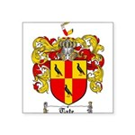Tate Coat of Arms Square Sticker 3