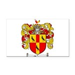 Tate Coat of Arms Rectangle Car Magnet