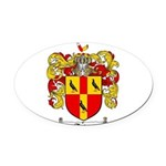 Tate Coat of Arms Oval Car Magnet
